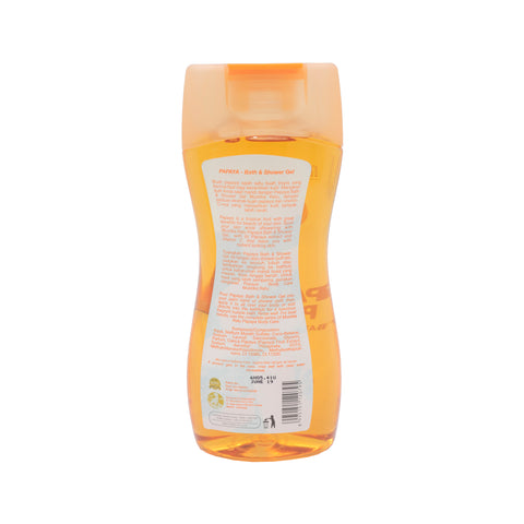Mustika Ratu, Bath & Shower Gel, Papaya, 245 ml