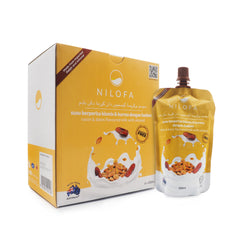 Nilofa, Raisin & Dates Flavoured Milk, with Almond, 200 ml