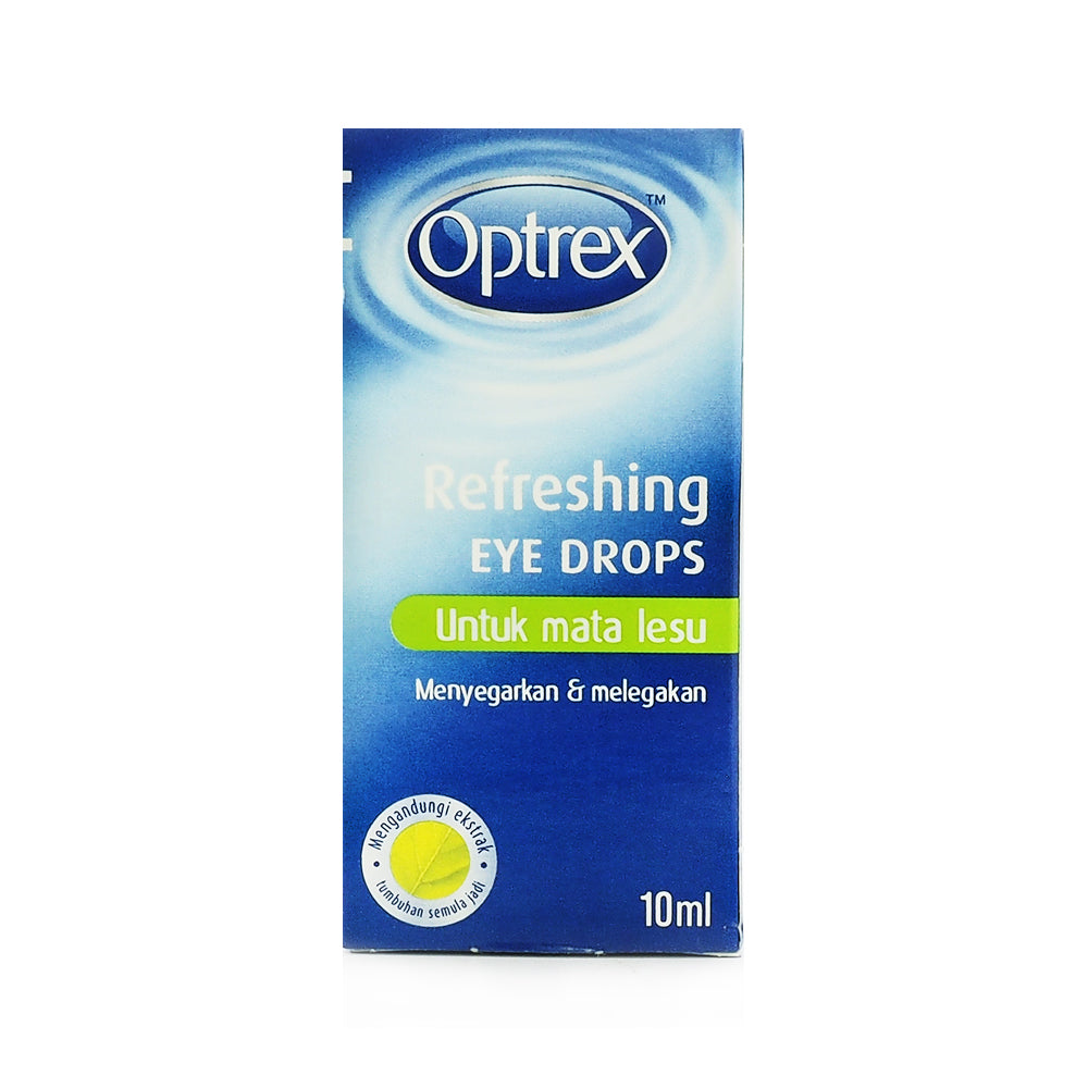 Optrex, Refreshing, Eye Drops, For tired eyes, 10 ml