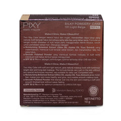 Pixy, Make It Glow, Silky Powdery, 101 Light Beige, 10 g