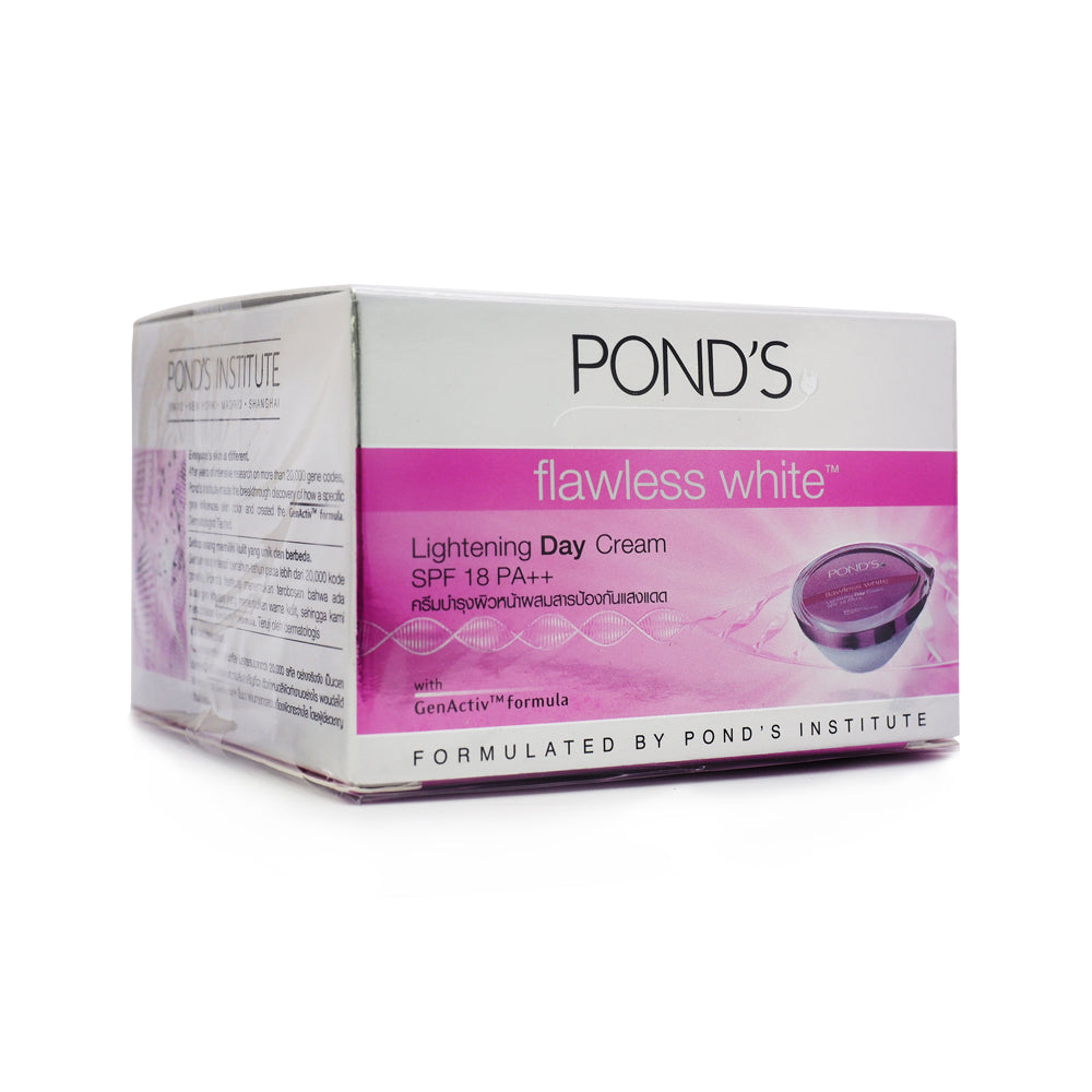 Pond's, Flawless White Lightening Day Cream SPF18, 50 g