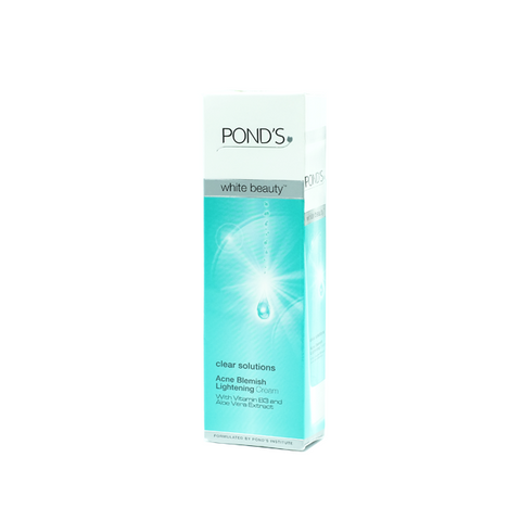 Pond's, Clear Solutions Acne Blemish Lightening Cream, 20 g