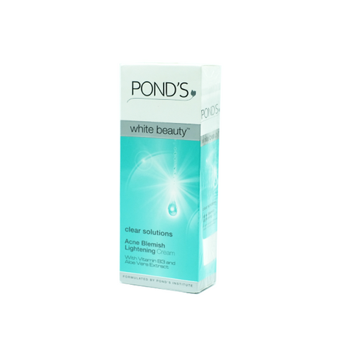 Pond's, Clear Solutions Acne Blemish Lightening Cream, 40 g