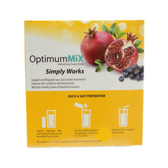 Optimum Mix, Refreshing Fruity Drink, 30 Sachets