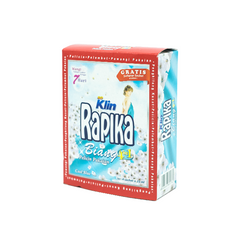 Rapika, Biang 3 in 1, Cool Blue, 25 ml X 4 sachets