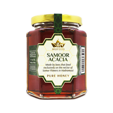 Mufeed, Pure Honey, Samoor Acacia, 350 g