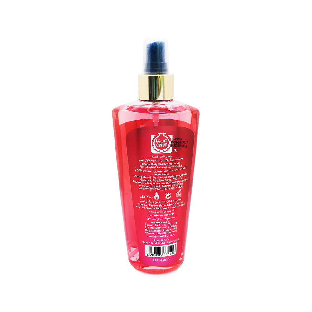 Surrati, Twist Body Mist, Raspberry, 250 ml