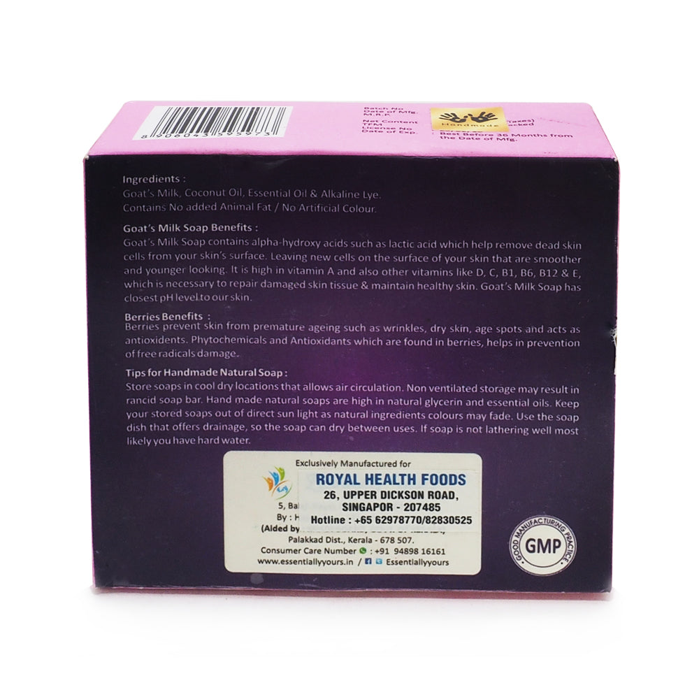 Shazfas, Goat's Milk Soap Berries, 113 g