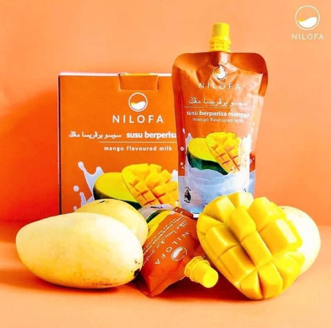 Nilofa, Mango Flavoured Milk, 200 ml
