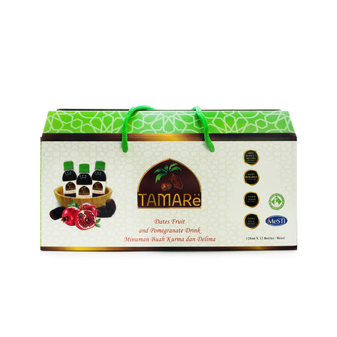 Tamare Dates Fruit and Pomegranate Drink 120 ml x 12 bottles