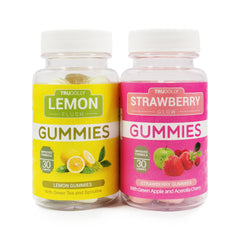 Trudolly, Strawberry Glow & Lemon Flush, 60 Gummies