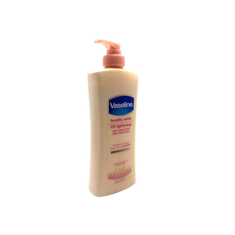 Vaseline, Healthy White UV Lightening Lotion, 400 ml