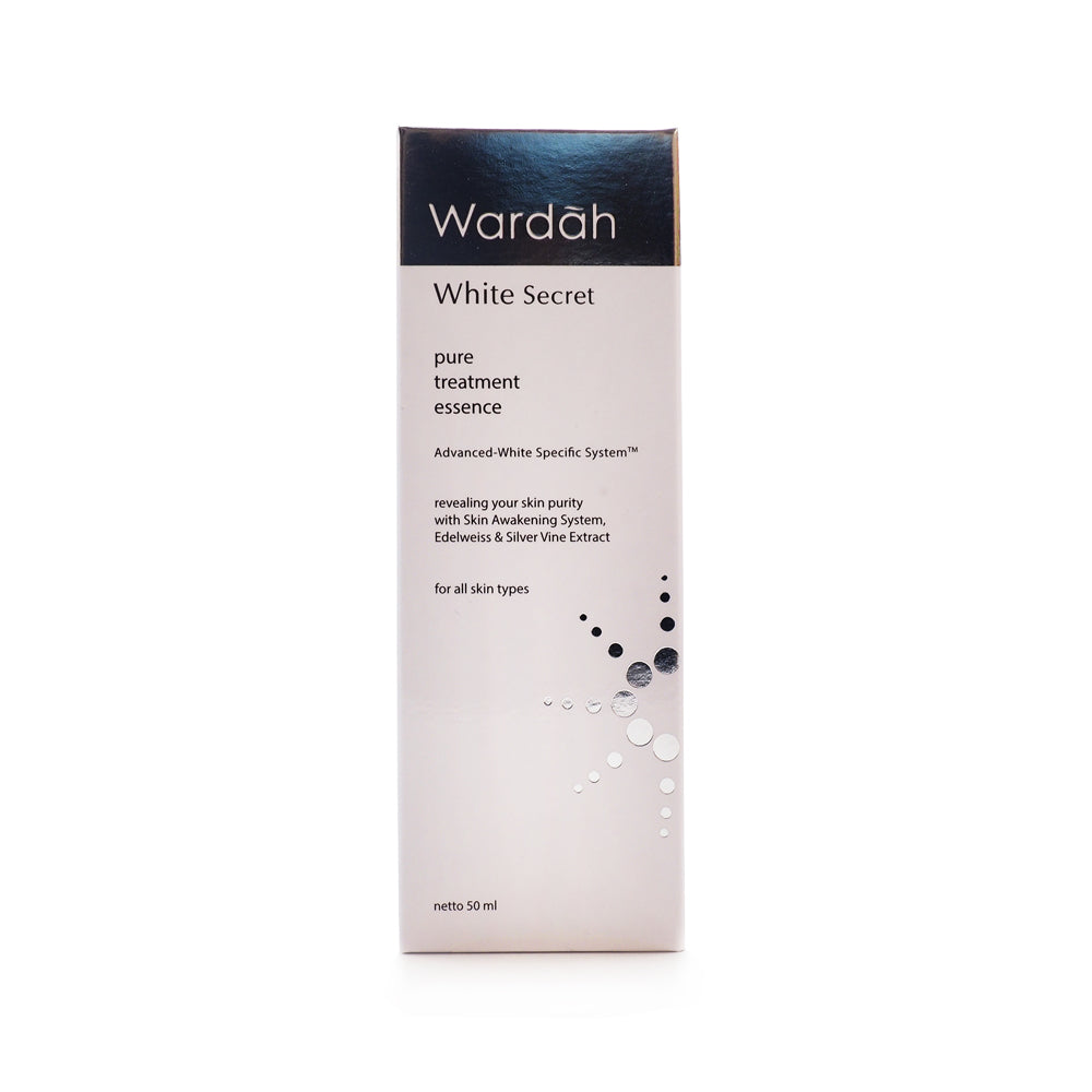 Wardah,  White Secret, Pure Treatment Essence, 100 ml