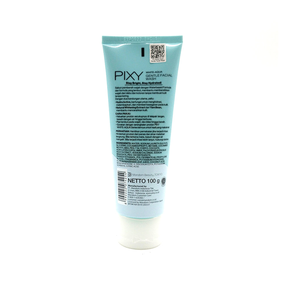 Pixy, White-Aqua Gentle Facial Wash, 100 g