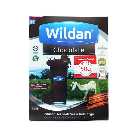 Wildan, Susu Kambing, Chocolate. 500 g