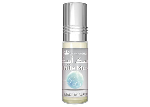 Al Rehab, Crown Perfumes, White Musk, 6 ml