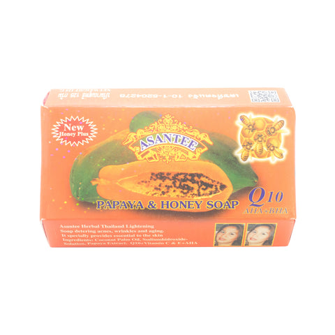 Asantee, Papaya Herbal Lightening Soap, 135 gm
