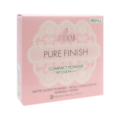 Pixy, Pure Finish Compact Powder Refill, Pink Beige, 11 g