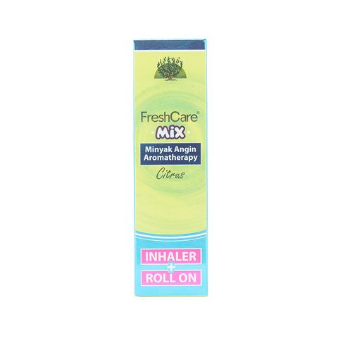 Freshcare, Roll On + Inhaler, Mix Citrus, 5.8 ml