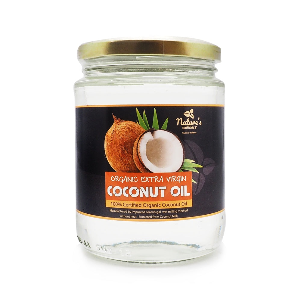 Nature's Wellness, Organic Extra Virgin Coconut Oil, 300 ml