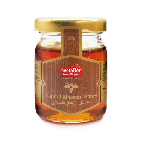 Nectaflor, Natural Blossom Honey, 60 g