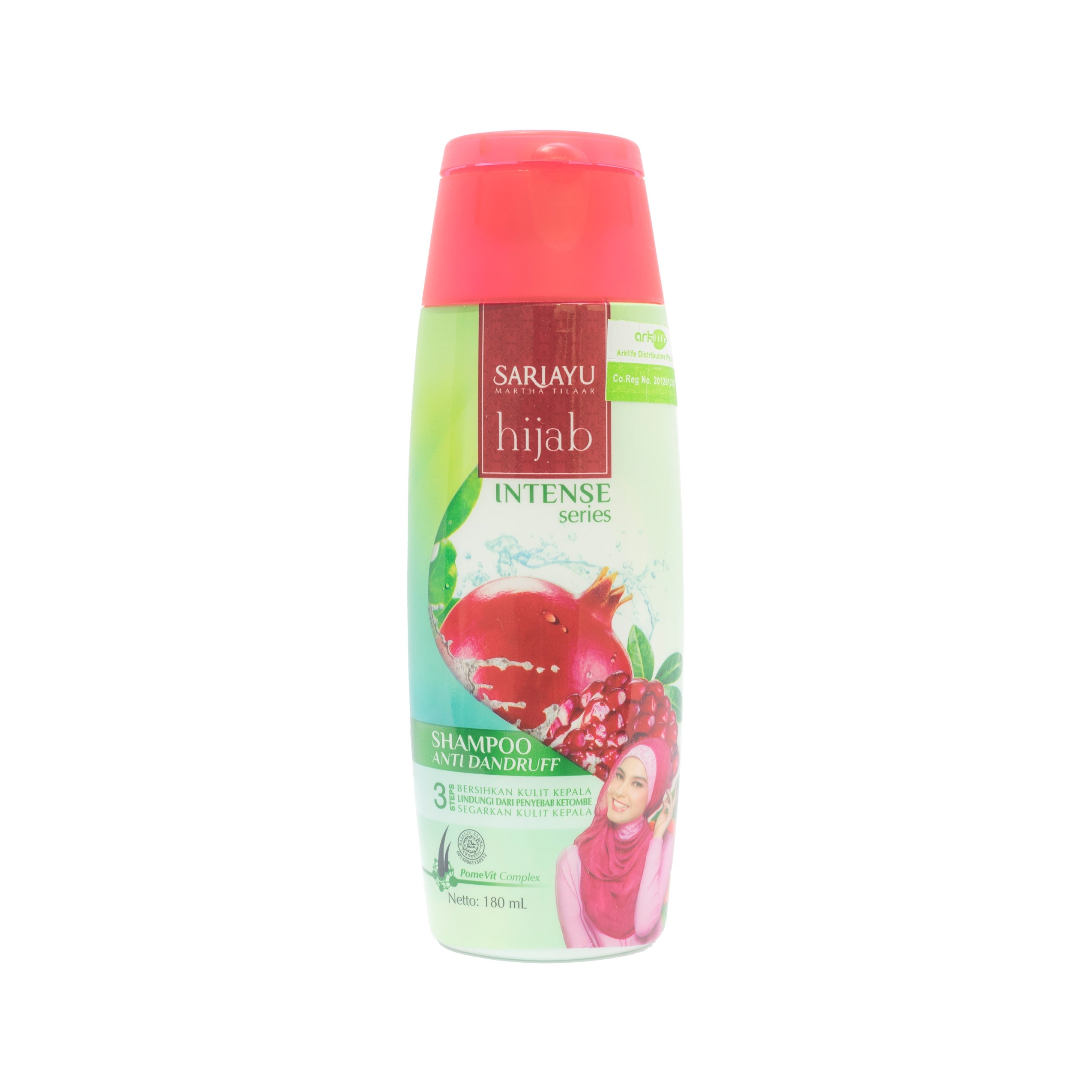 Sariayu, Hijab Intense Series Anti Dandruff Shampoo, 180 ml