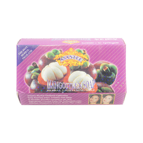 Asantee, Mangosteen Herbal Lightening Soap, 135 gm