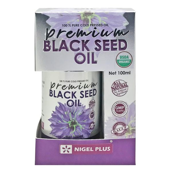 Nigel Plus, Premium Organic Black Seed Oil, 100ml