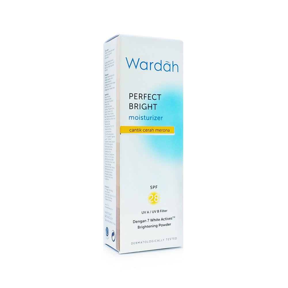 Wardah, Perfect Bright Moisturizer, SPF 28, 20 ml