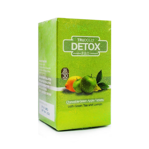 TruDolly, Detox Pro, 30 chewable tablets