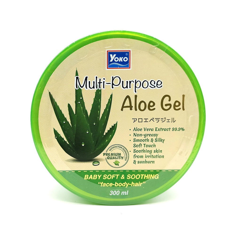 Yoko, Multi Purpose Aloe Gel, 300 ml