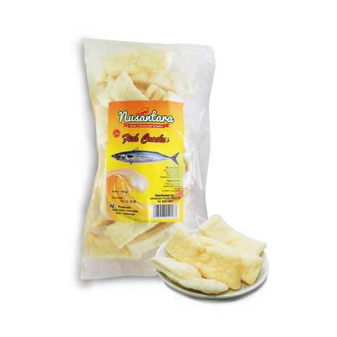 Nusantara, Fish Crackers, Square, 150 g