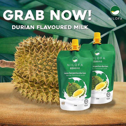 Nilofa, Durian Flavoured Milk, 175 ml