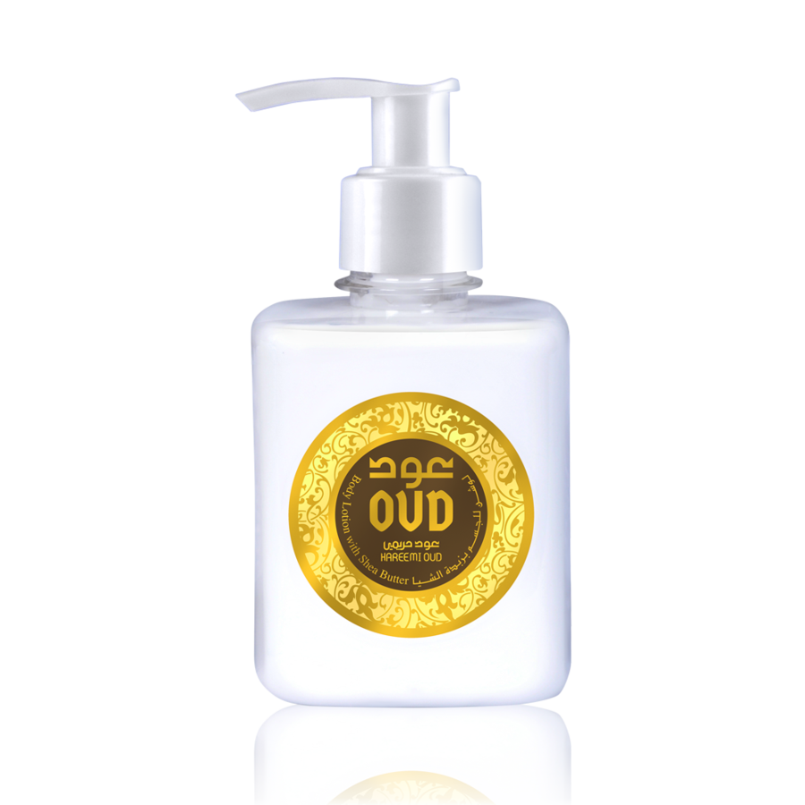 OudLux, Oud Hareemi Body Lotion With Shea Butter, 300 ml