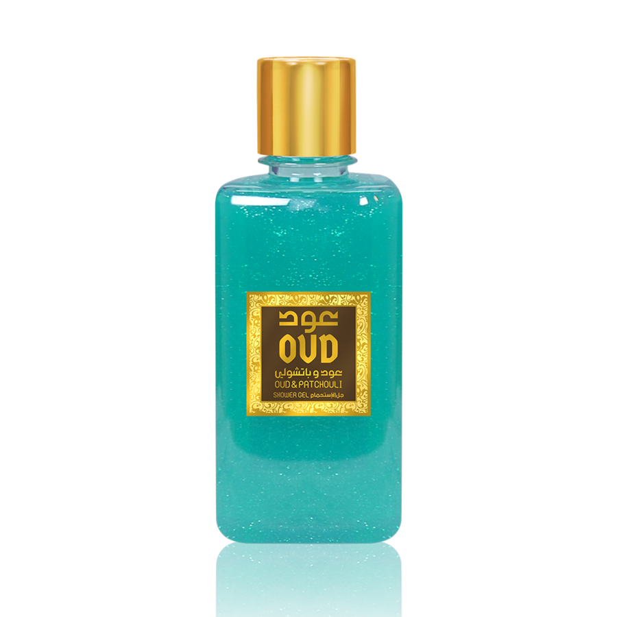 OudLux, Oud & Patchouli Shower Gel, 300 ml