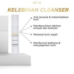 NSA Beau, Ainaa Cleanser, 2 in 1 Purifying Gel, 50 ml