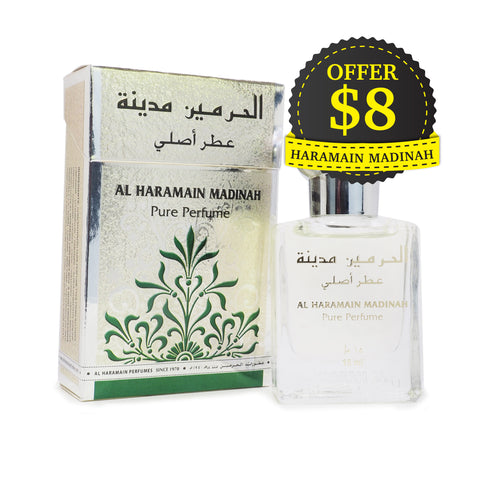 Al Haramain Pure Perfume Madinah 15 ml