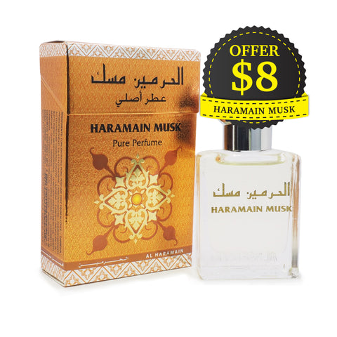 Al Haramain Pure Perfume Musk 15 ml