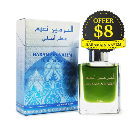 Al Haramain Pure Perfume Naeem 15 ml