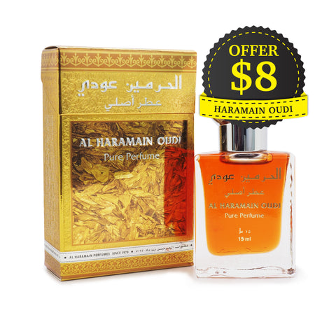 Al Haramain, Pure Perfume, Oudi, 15 ml
