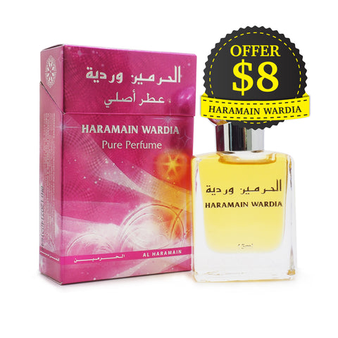 Al Haramain Pure Perfume Wardia 15 ml