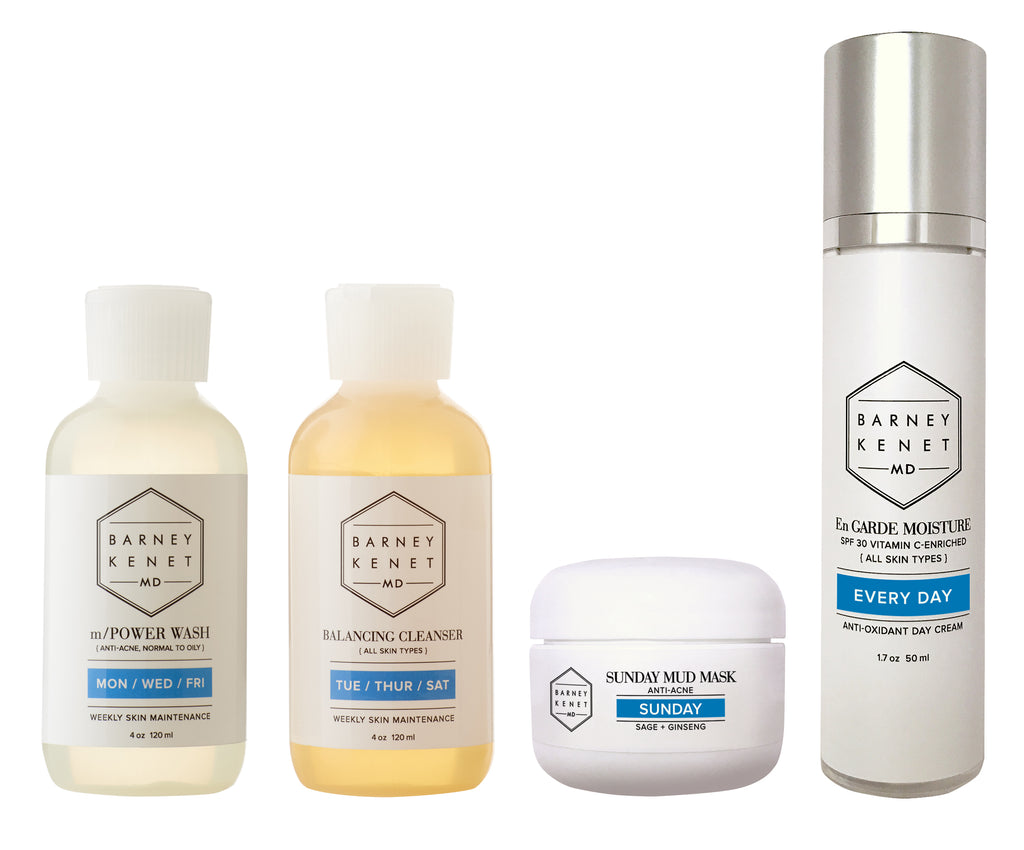 Weekly Way - Clarifying Skin Care Kit (Anti-Acne)
