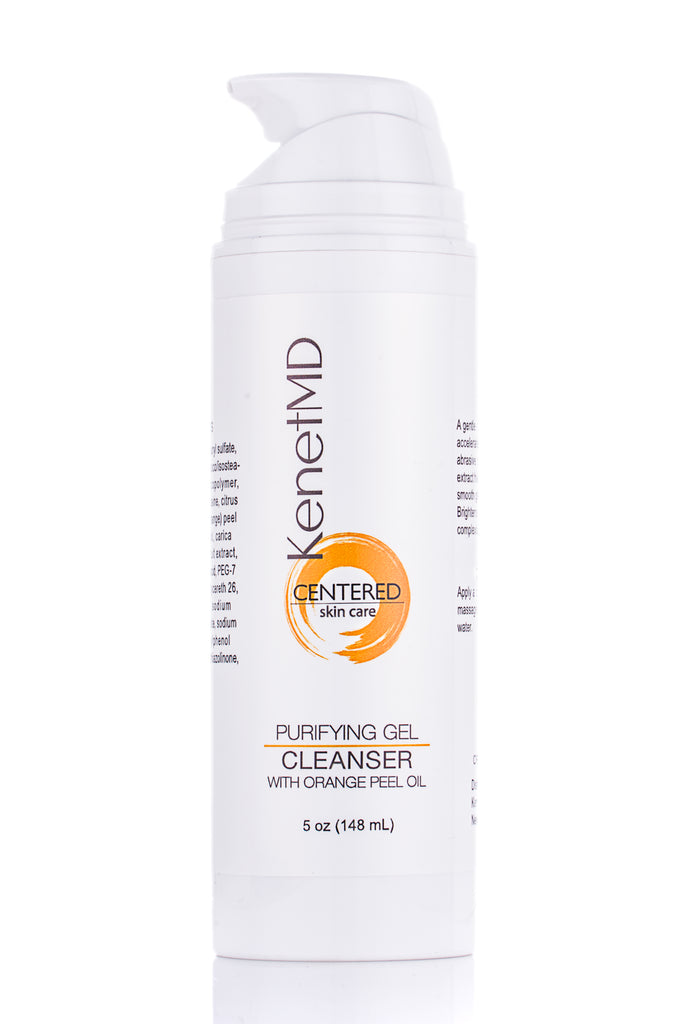 PURIFYING GEL CLEANSER (WITH ORANGE PEEL OIL)