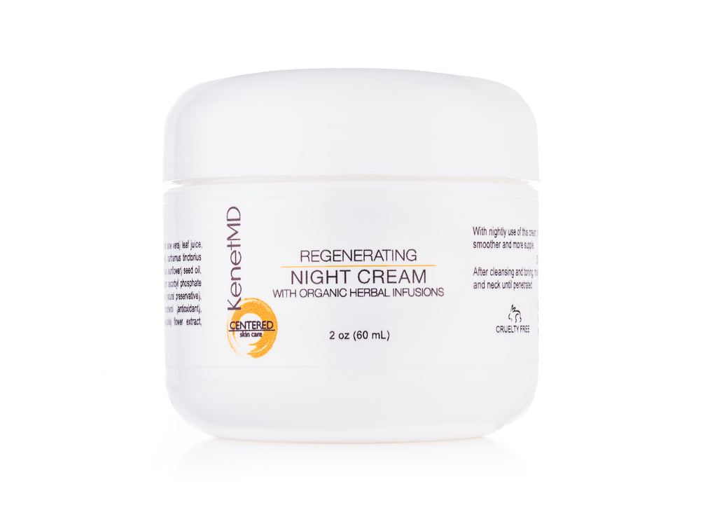 REGENERATING NIGHT CREAM (WITH ORGANIC HERBAL INFUSIONS)