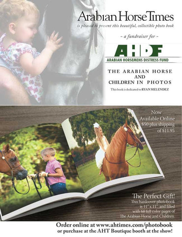Arabian Horsemen's Distress Fund -  2015 Children's Fundraiser Book