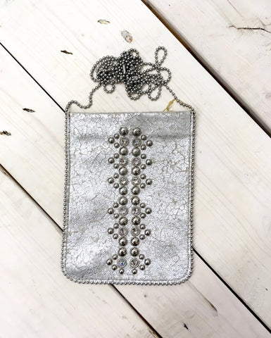 Silver Party Purse