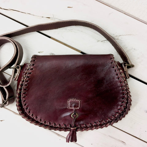 Genuine Leather, Flap Purse