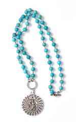 St. Christopher Miko Medallion Necklace