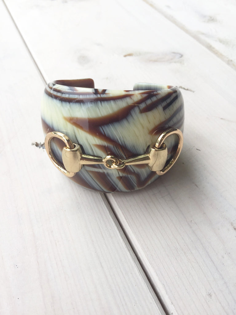 Faux Turtleshell Bracelet