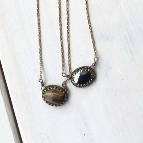 Short Jewel Necklace